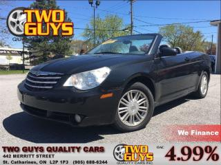 Used 2008 Chrysler Sebring TOURING CONV. NEW TIRES ALLOYS for sale in St Catharines, ON