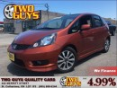 Used 2013 Honda Fit SPORT STICK BLUETOOTH ALLOYS NEW TIRES for sale in St Catharines, ON