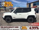 Used 2015 Jeep Renegade TRAILHAWK NAVIGATION 4WD for sale in St Catharines, ON