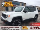 Used 2015 Jeep Renegade TRAILHAWK 4X4 OFF ROAD CAPABLE! for sale in St Catharines, ON