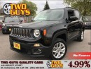 Used 2015 Jeep Renegade NORTH LATITUDE 4X4 HTD SEATS & STEERING WHEEL for sale in St Catharines, ON