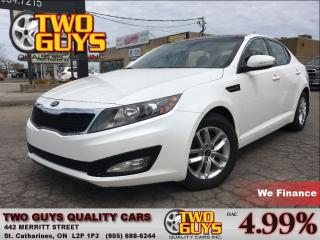 Used 2013 Kia Optima LX PANORAMA ROOF MAGS for sale in St Catharines, ON