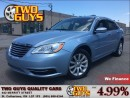 Used 2012 Chrysler 200 LX NICE CLEAN CAR! 4 NEW TIRES for sale in St Catharines, ON