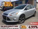 Used 2013 Ford Focus SE NAVIGATION LEATHER MOON ROOF for sale in St Catharines, ON