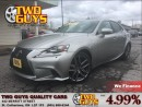 Used 2014 Lexus IS 250 F SPORT RIOJA RED SEATS! AWD NAV ROOF for sale in St Catharines, ON