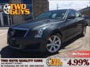 Used 2014 Cadillac ATS 2.0L Turbo LEATHER SUN ROOF BACK UP CAMERA for sale in St Catharines, ON
