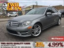 Used 2013 Mercedes-Benz C-Class 300 4MATIC LEATHER ROOF ALLOYS GREAT KMS for sale in St Catharines, ON