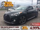 Used 2016 Hyundai Veloster TURBO LEATHER NAVIGATION PANORAMIC ROOF TECH PKG for sale in St Catharines, ON