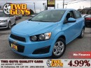 Used 2014 Chevrolet Sonic LT MYLINK | REMOTE START | ALLOYS | for sale in St Catharines, ON