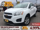 Used 2013 Chevrolet Trax 1LT | GM LEASE RETURN | FWD | ALLOYS for sale in St Catharines, ON