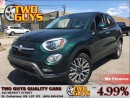 Used 2016 Fiat 500X Trekking AWD PANORAMIC ROOF CLOTH & LEATHER for sale in St Catharines, ON