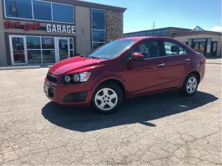 Used 2013 Chevrolet Sonic LT | Local Trade |  Auto | Cruise | Bluetooth | Ni for sale in St Catharines, ON