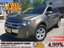 Used 2013 Ford Edge SEL | NAVIGATION | LEATHER | MOON ROOF for sale in St Catharines, ON