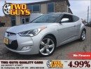 Used 2013 Hyundai Veloster HTD SEATS ALLOYS 4 PASS for sale in St Catharines, ON