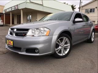 Used 2014 Dodge Avenger SXT 18INCH RIMS HTD SEATS SPOILER for sale in St Catharines, ON