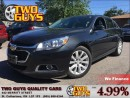 Used 2015 Chevrolet Malibu 2LT|  18 INCH ALLOYS | CLOTH/LEATHER SEATS for sale in St Catharines, ON