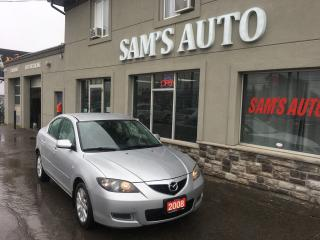 Used 2008 Mazda MAZDA3 GS *Ltd Avail* for sale in Hamilton, ON