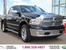 Used 2013 Dodge Ram 1500 Laramie HEMI - Local One Owner Trade In | No Accidents | 2 Sets of Factory Rim/Tire Included | Running Boards | Box Cover/Box Liner | Heated/Cooled Front Seats | Heated Rear Seats | Heated Steering Wheel | Bluetooth | Power Adjustable Pedals | Power Sunro for sale in Edmonton, AB