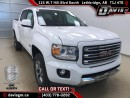 New 2017 GMC Canyon SLE-Heated Seats, All terrain Package, HD Trailering Package for sale in Lethbridge, AB
