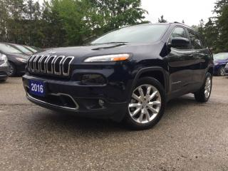 Used 2016 Jeep Cherokee Limited for sale in Bradford, ON