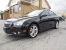 Used 2014 Chevrolet Cruze 2LT RS Turbo Leather Sunroof ONLY 40,000KMs for sale in Etobicoke, ON