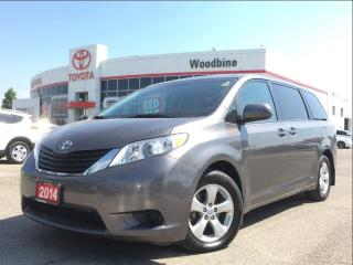 Used 2014 Toyota Sienna LE 8 Seater w/ Power Sliding Doors, Backup Cam for sale in Etobicoke, ON