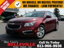 Used 2015 Chevrolet Cruze ONE Owner - Sunroof - Back UP Camera for sale in Belleville, ON