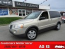 Used 2007 Pontiac Montana SV6 - AS TRADED *UNCERTIFIED* for sale in St Catharines, ON