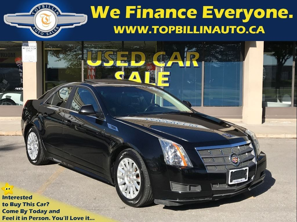 2010 Cadillac CTS 3.0L SUNROOF, LEATHER, Only 128K