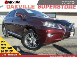 Used 2014 Lexus RX 350 TOURING   NAVI   HEATED & COOLED SEATS   B/U CAM for sale in Oakville, ON