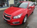 Used 2015 Chevrolet Cruze LOADED LT MODEL 5 PASSENGER 1.4L - DOHC.. LEATHER.. BACK-UP CAMERA.. CD/AUX/USB INPUT.. PIONEER AUDIO.. for sale in Bradford, ON