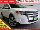 Used 2013 Ford Edge SEL| AWD| LEATHER| NAVI| DUAL SUNROOF| for sale in Burlington, ON
