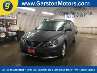 Used 2016 Nissan Sentra SV*CVT*HEATED FRONT SEATS*BACK UP CAMERA*KEYLESS ENTRY W/PUSH BUTTON START*POWER WINDOWS/LOCKS/MIRRORS*CD/MP3 W/USB INPUT* for sale in Cambridge, ON