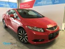 Used 2013 Honda Civic Cpe EX-L A/T Local One Owner Bluetooth USB AUX Sunroof Leather Navi Rearview Cam TCS ABS for sale in Port Moody, BC