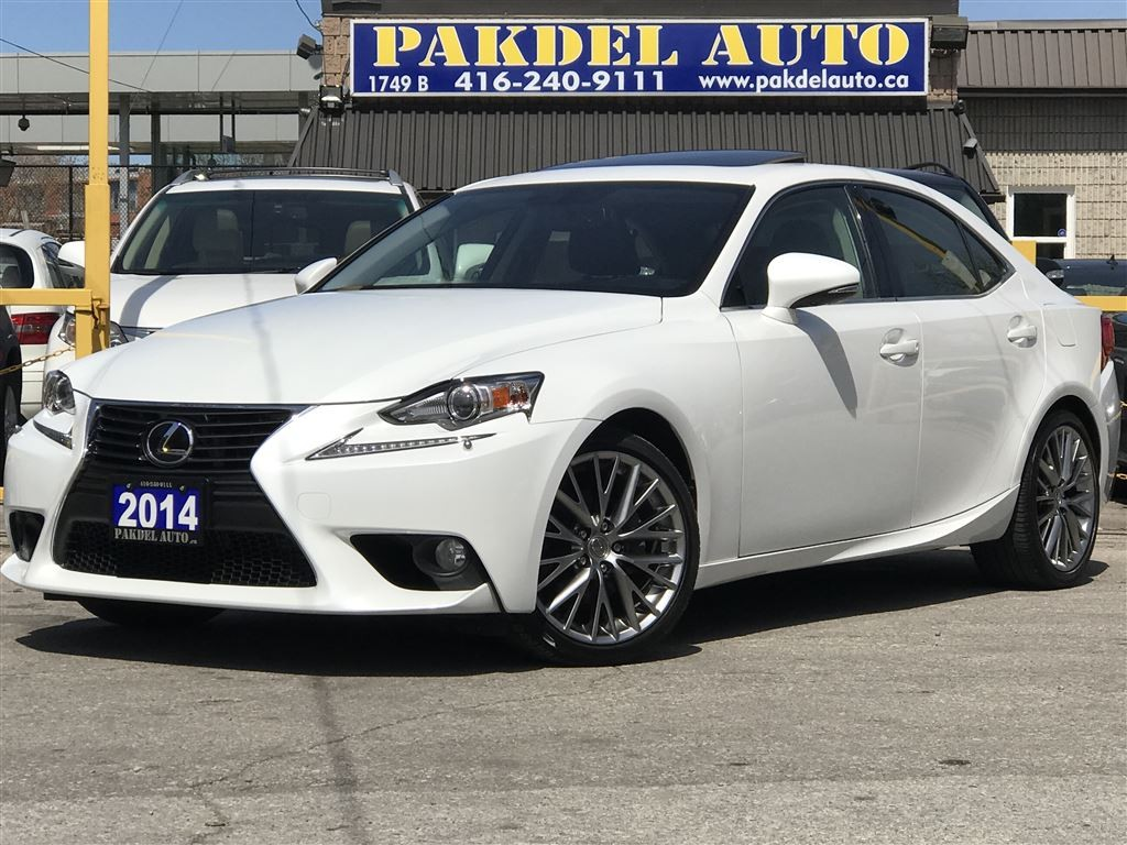 used 2014 lexus is 250 awd 1 owner off lease still under warranty for sale in york ontario. Black Bedroom Furniture Sets. Home Design Ideas