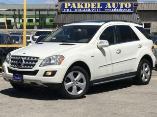 Used 2010 Mercedes-Benz ML-Class ML350 BLUE TEC*NAVI*PUSH START*PARK ASSIST for sale in York, ON