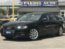Used 2013 Audi A4 2.0T PREMUIM PKG*6 SPEED*XENON LED LIGHT for sale in York, ON