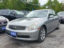 Used 2006 Infiniti G35X AWD..certified for sale in Oshawa, ON