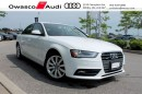 Used 2014 Audi A4 Tiptronic quattro Komfort w/ Glass Sunroof for sale in Whitby, ON