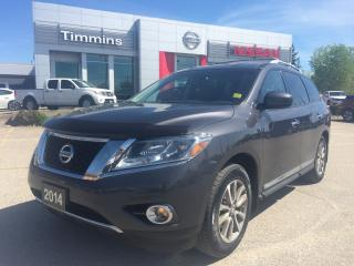 Used 2014 Nissan Pathfinder SL for sale in Timmins, ON