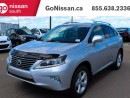 Used 2013 Lexus RX 350 VERY LOW KM'S, LEATHER, SUNROOF!! for sale in Edmonton, AB