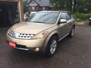 Used 2006 Nissan Murano SL for sale in Scarborough, ON