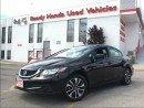 Used 2015 Honda Civic Sedan EX - Lane watch - Power roof for sale in Mississauga, ON