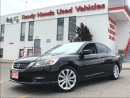 Used 2013 Honda Accord Sedan Touring - Navigation - Leather for sale in Mississauga, ON