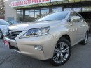 Used 2013 Lexus RX NAVIGATION-CAMERA-LEATHER-SUNROOF-BLUETOOTH for sale in Scarborough, ON