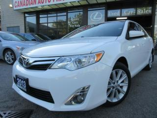 Used 2012 Toyota Camry XLE- NAVIGATION -LEATHER-SUNROOF-CAMERA-BLUETOOTH for sale in Scarborough, ON