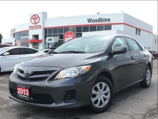 Used 2013 Toyota Corolla CE Convenience Pkg w/ Power Windows for sale in Etobicoke, ON