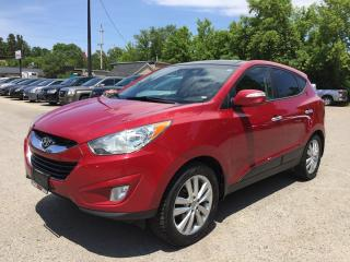 Used 2013 Hyundai TUCSON GLS PZEV * AWD * LEATHER * PANO SUNROOF * BLUETOOTH * HEATED SEATS for sale in London, ON