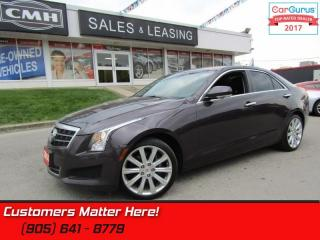 Used 2014 Cadillac ATS 2.0 Turbo Luxury  AWD, NAV, ROOF, CAMERA! for sale in St Catharines, ON