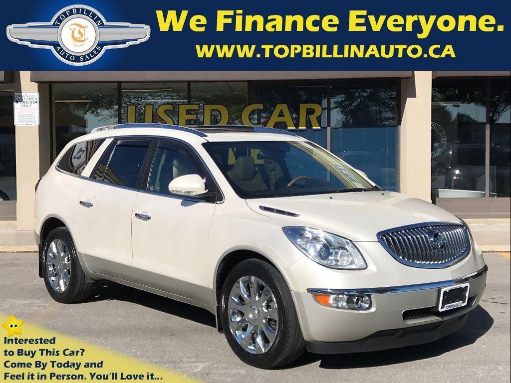 2011 Buick Enclave CXL NAVI, LEATHER, SUNROOF, BACKUP CAMERA